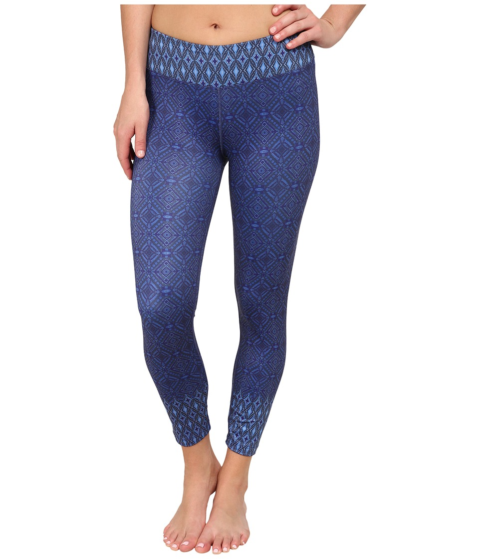 Prana - Roxanne Printed Legging (Blue Santorini) Women's Casual Pants