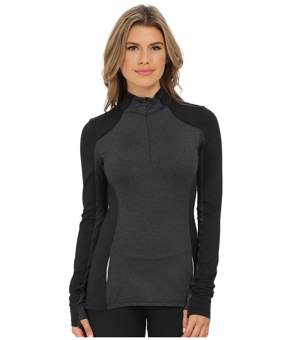 Prana - Sierra 1/4 Zip (Black) Women's Long Sleeve Pullover