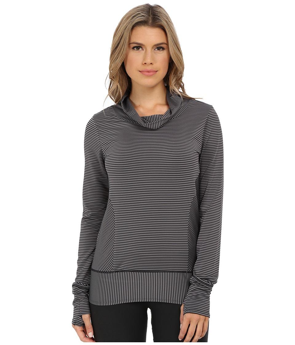 Prana - Marin Pullover (Black Stripe) Women's Long Sleeve Pullover