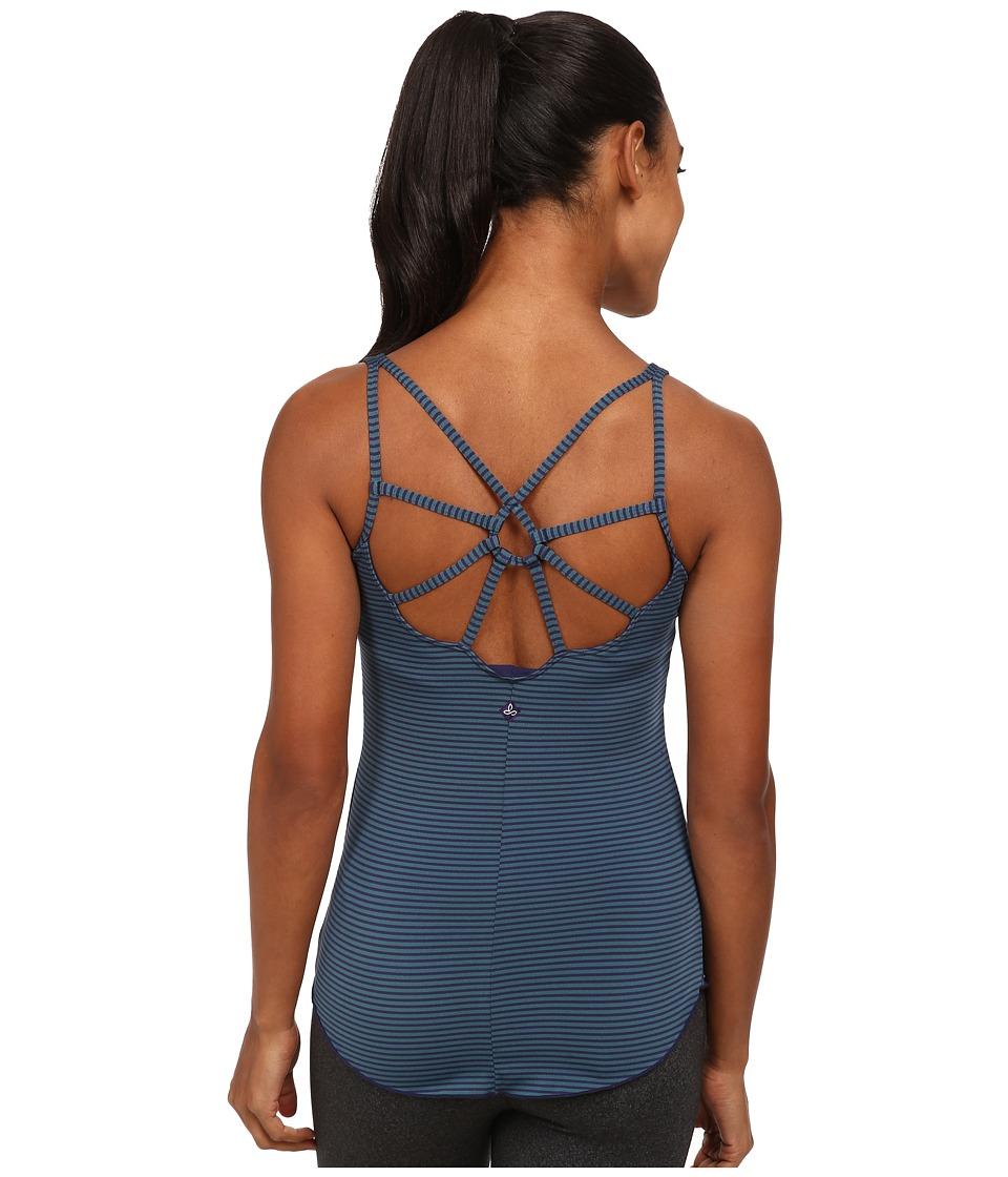 Prana - Dream Catcher Top (Indigo Stripe) Women's Sleeveless
