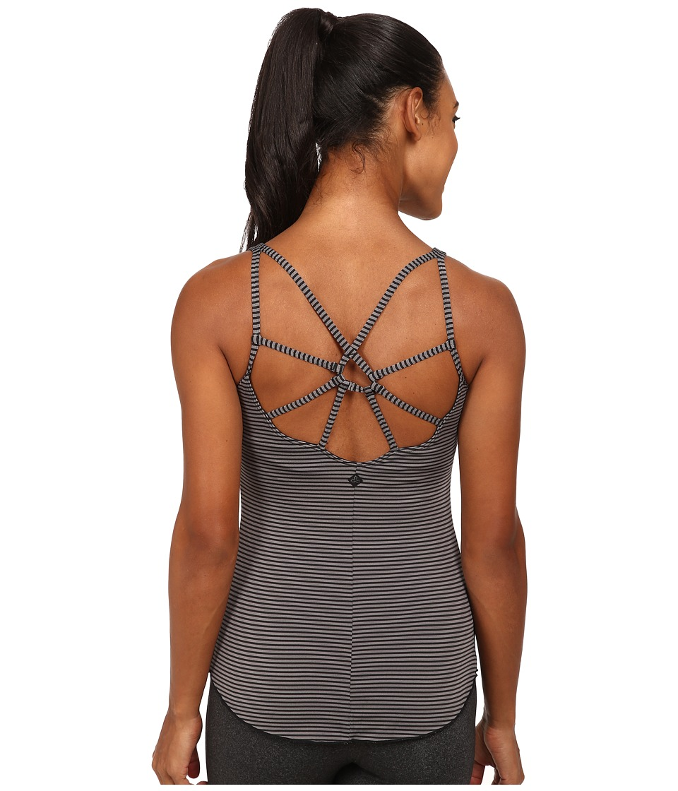 Prana - Dream Catcher Top (Black Stripe) Women's Sleeveless