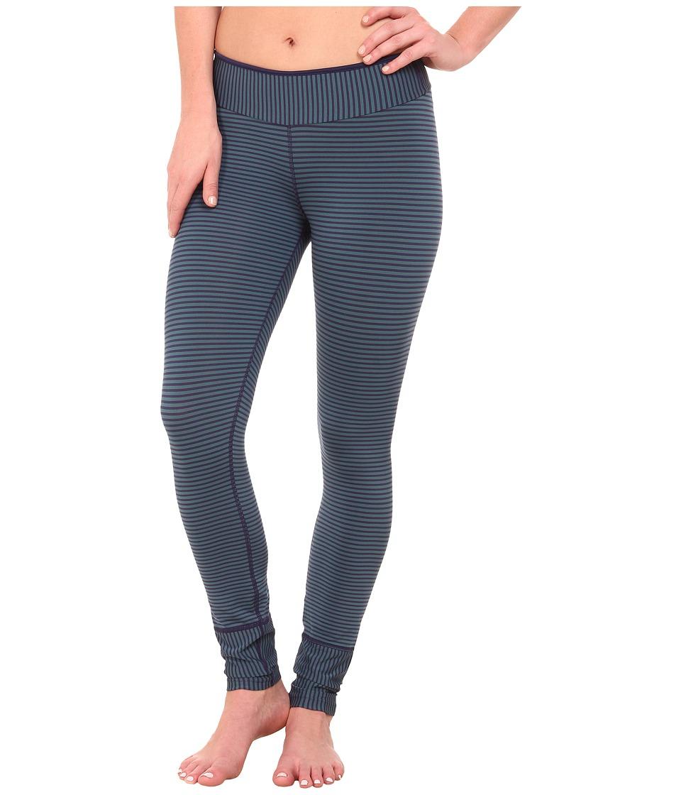 Prana - Sapphire Legging (Indigo Stripe) Women's Casual Pants