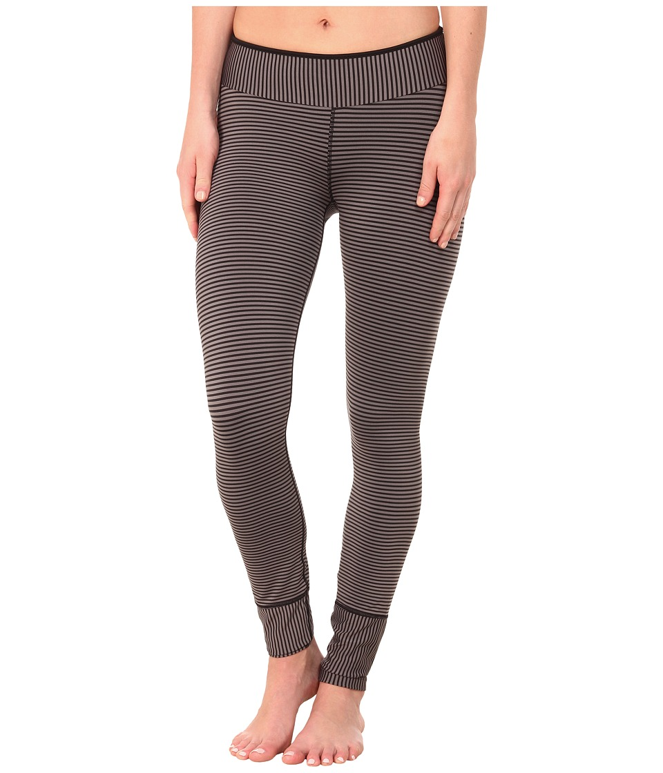 Prana - Sapphire Legging (Black Stripe) Women's Casual Pants