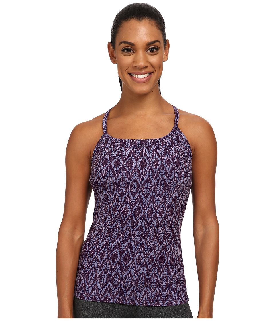 Prana - Quinn Top (Plum Baleen) Women's Workout