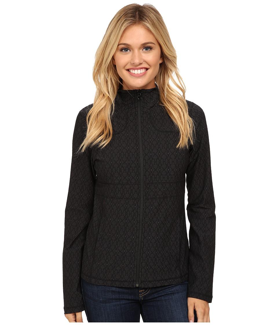 Prana - Reeve Jacket (Black Jacquard) Women's Coat
