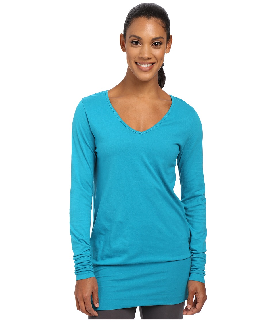 Prana - Cantena Top (Cast Blue) Women's Long Sleeve Pullover