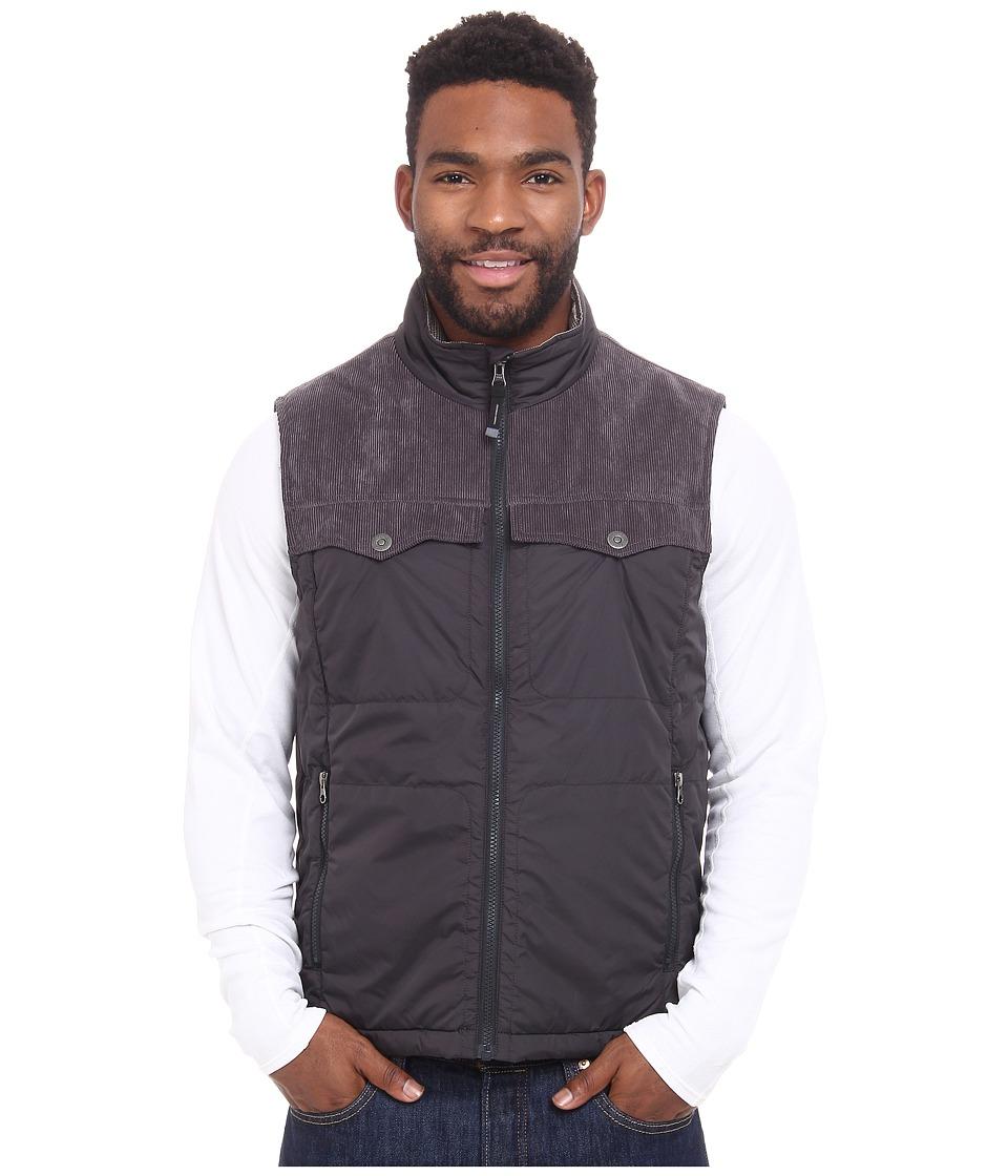 Prana - Hoffman Vest (Charcoal) Men's Vest