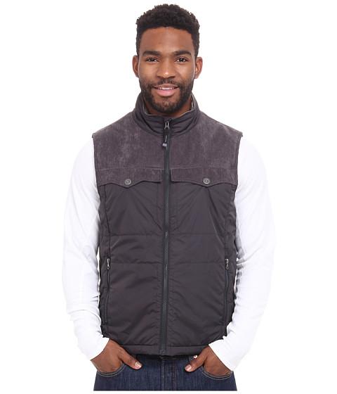 Prana - Hoffman Vest (Charcoal) Men