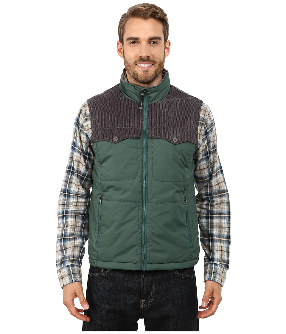 Prana - Hoffman Vest (Evergreen) Men's Vest
