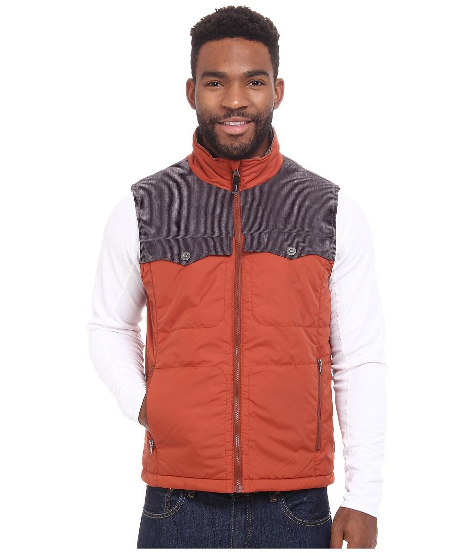 Prana - Hoffman Vest (Henna) Men's Vest