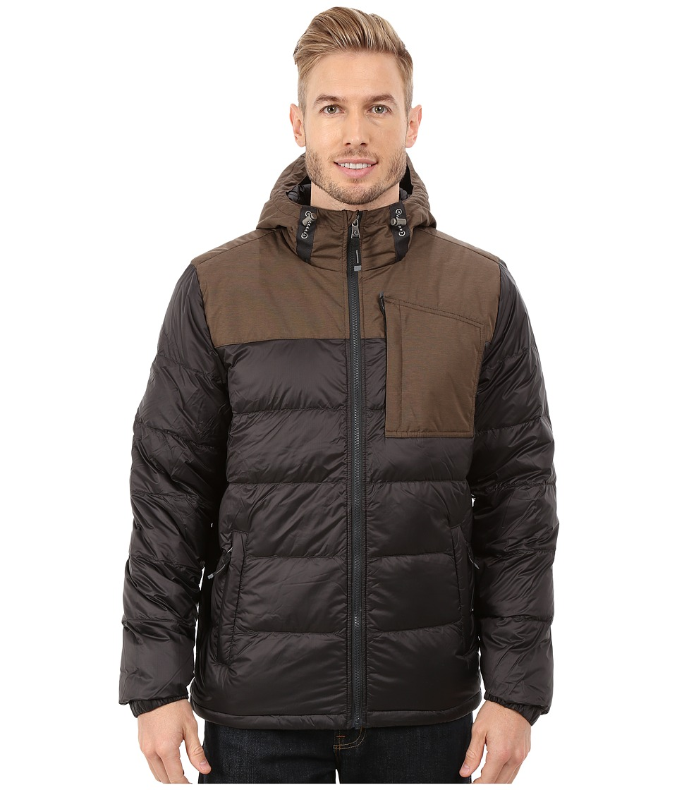 Prana - Tanner Down Jacket (Charcoal) Men