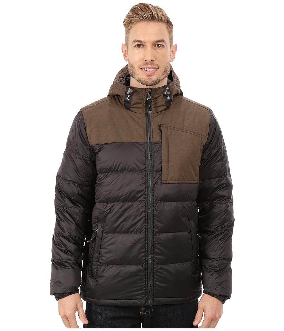 Prana Tanner Down Jacket (Charcoal) Men