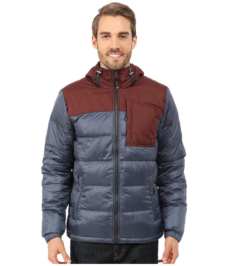 Prana - Tanner Down Jacket (Grey Blue) Men's Coat