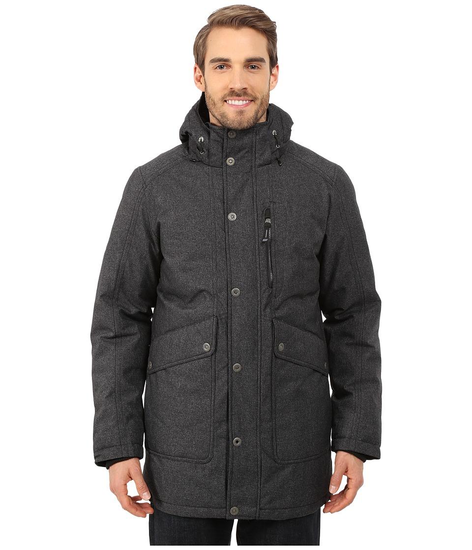 Prana - Merced Jacket (Black Heather) Men's Coat