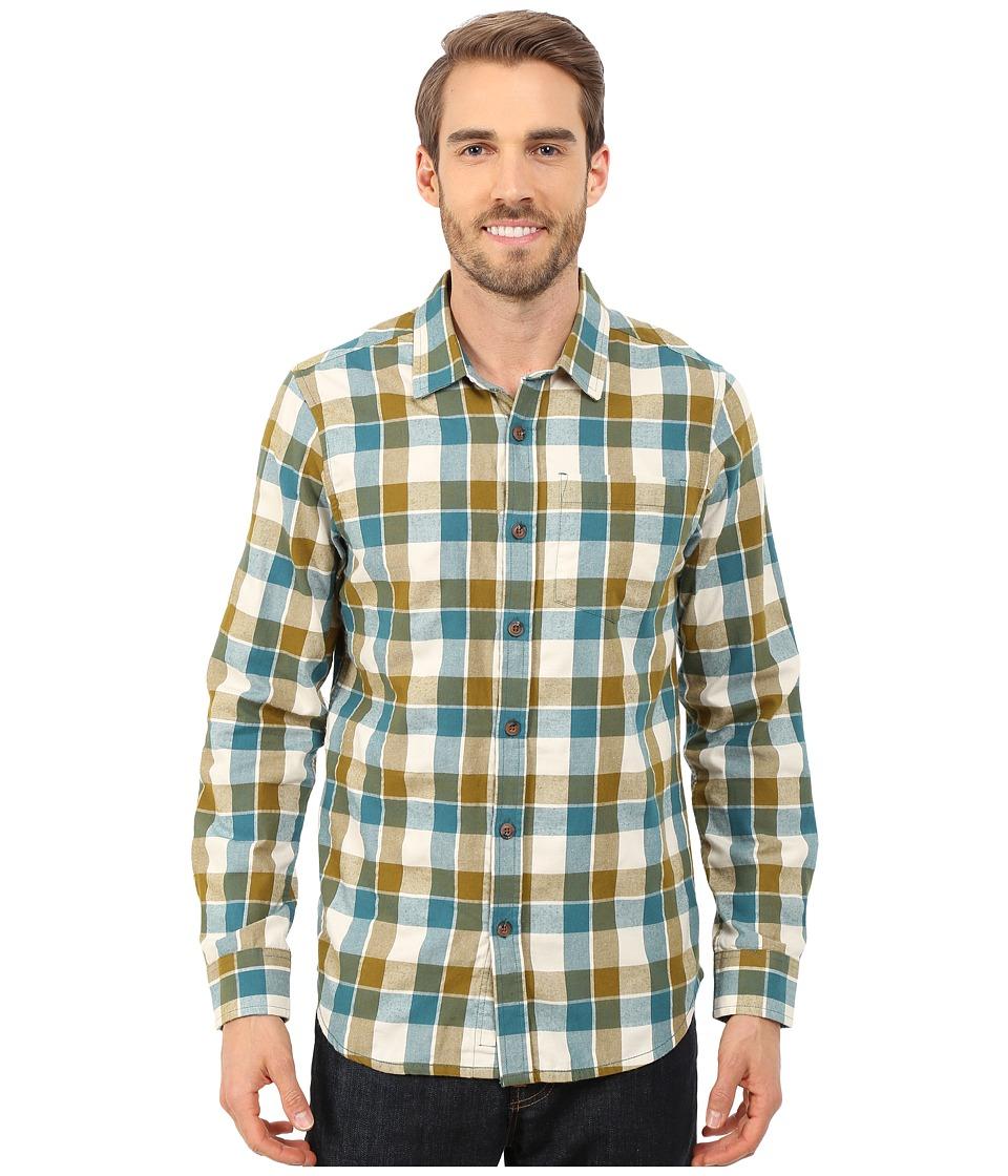 Prana Huntley Long Sleeve Shirt (Deep Balsam) Men