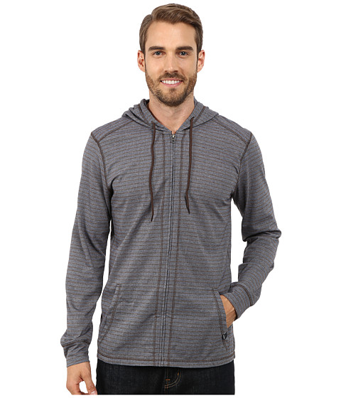 Prana - Keller Full Zip Hoodie (Blue Ridge) Men's Sweatshirt