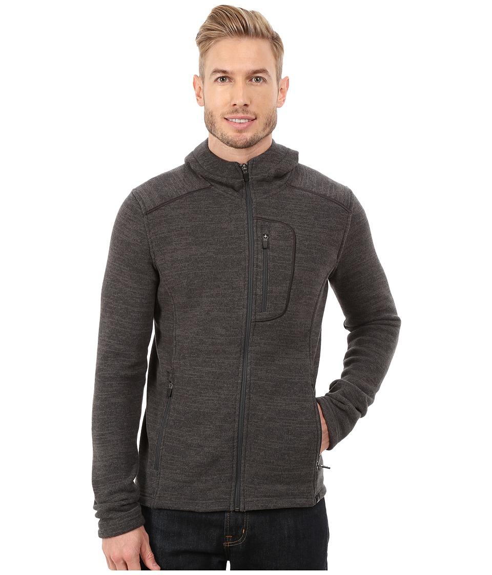 Prana - Helix Full Zip Jacket (Charcoal) Men's Coat