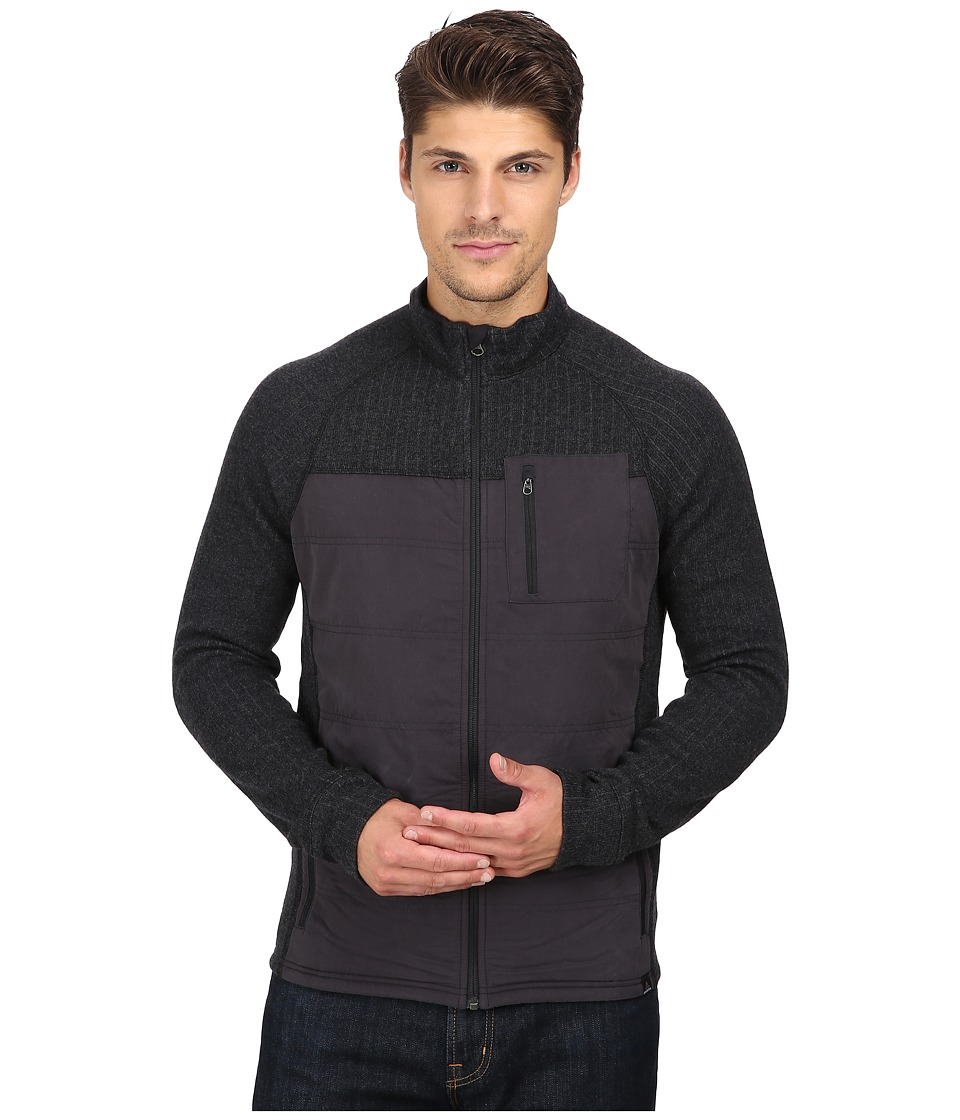 Prana Appian Sweater (Charcoal) Men