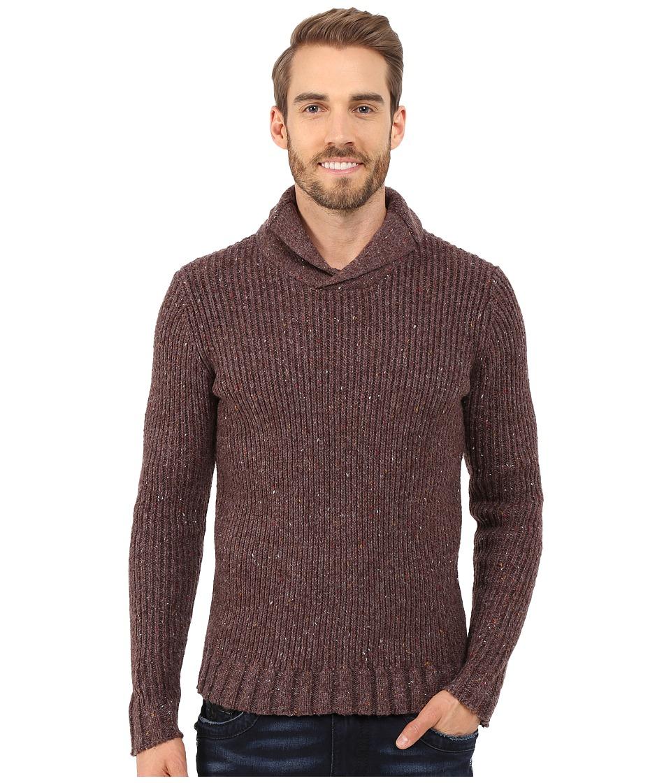 Prana - Onyx Sweater (Brown) Men's Sweater