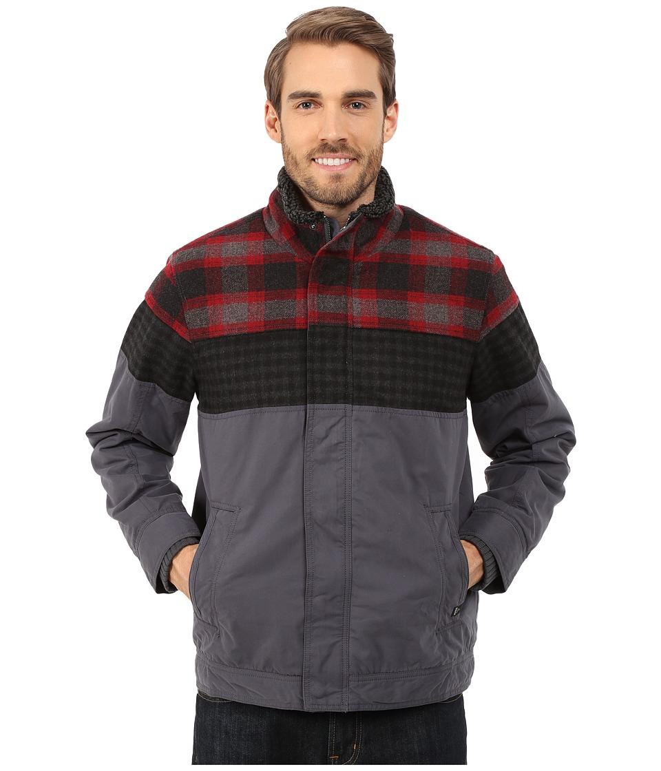 Prana - Ridgeland Jacket (Coal) Men's Coat