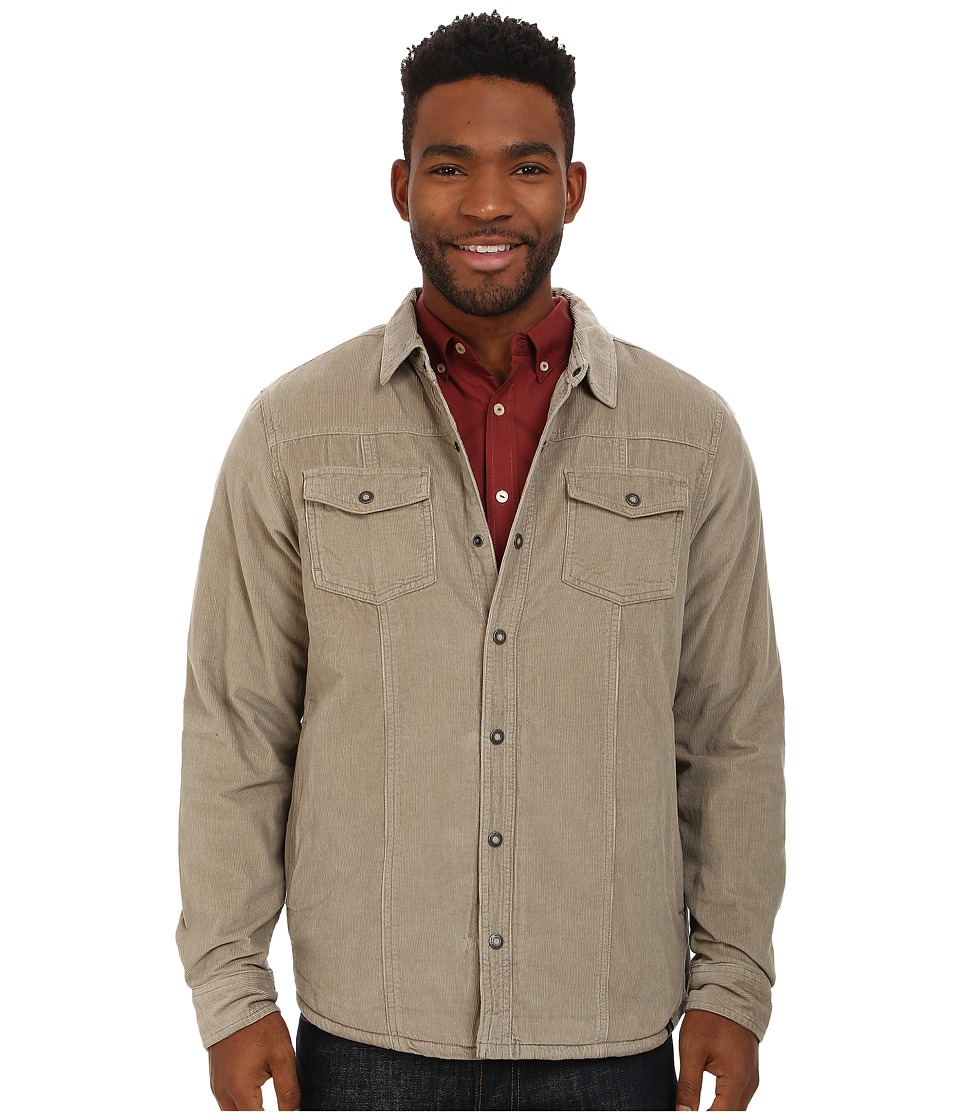Prana - Gomez Corduroy Jacket (Dark Khaki) Men's Coat