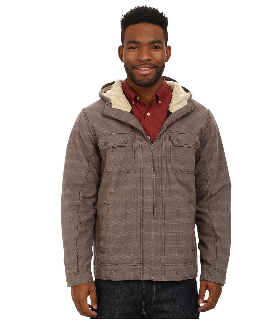 Prana - Apperson Jacket (Mud Plaid) Men's Coat