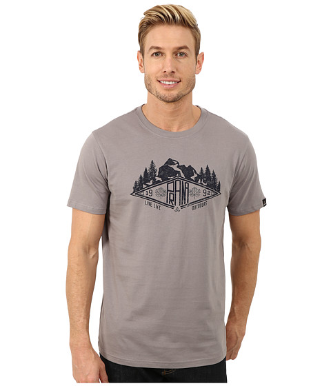 Prana - Scramble Tee (Greystone) Men's T Shirt
