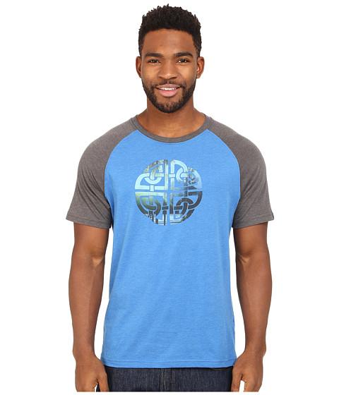 Prana - Interwoven Tee (Classic Blue) Men's T Shirt