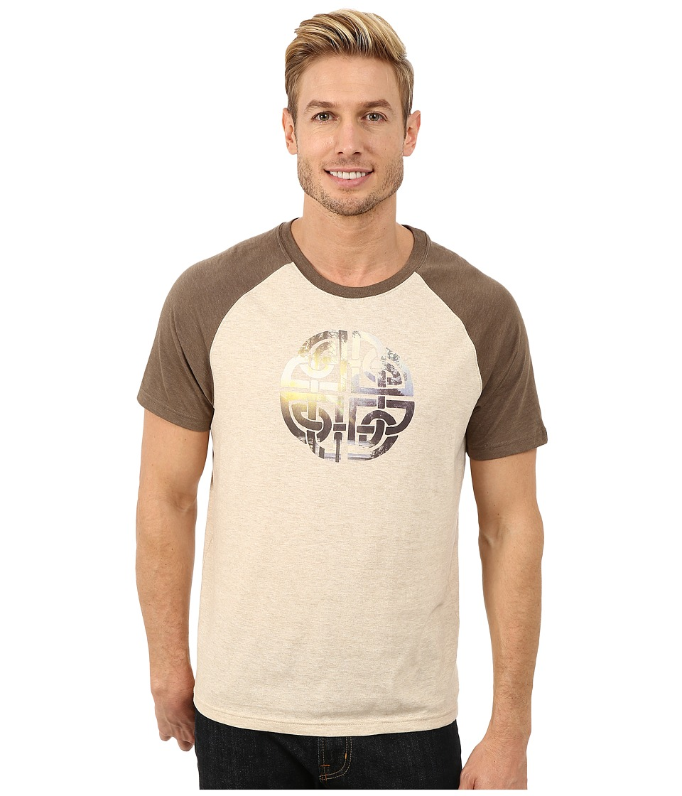 Prana Interwoven Tee (Stone) Men