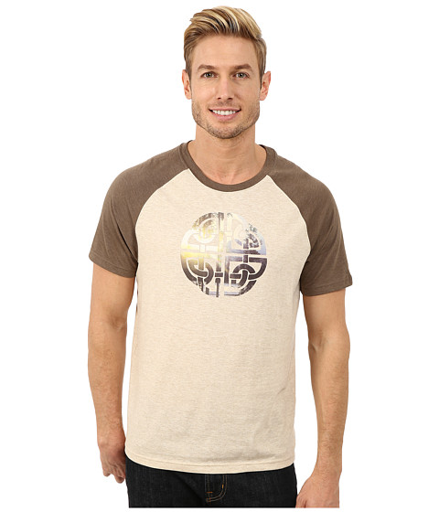 Prana - Interwoven Tee (Stone) Men's T Shirt