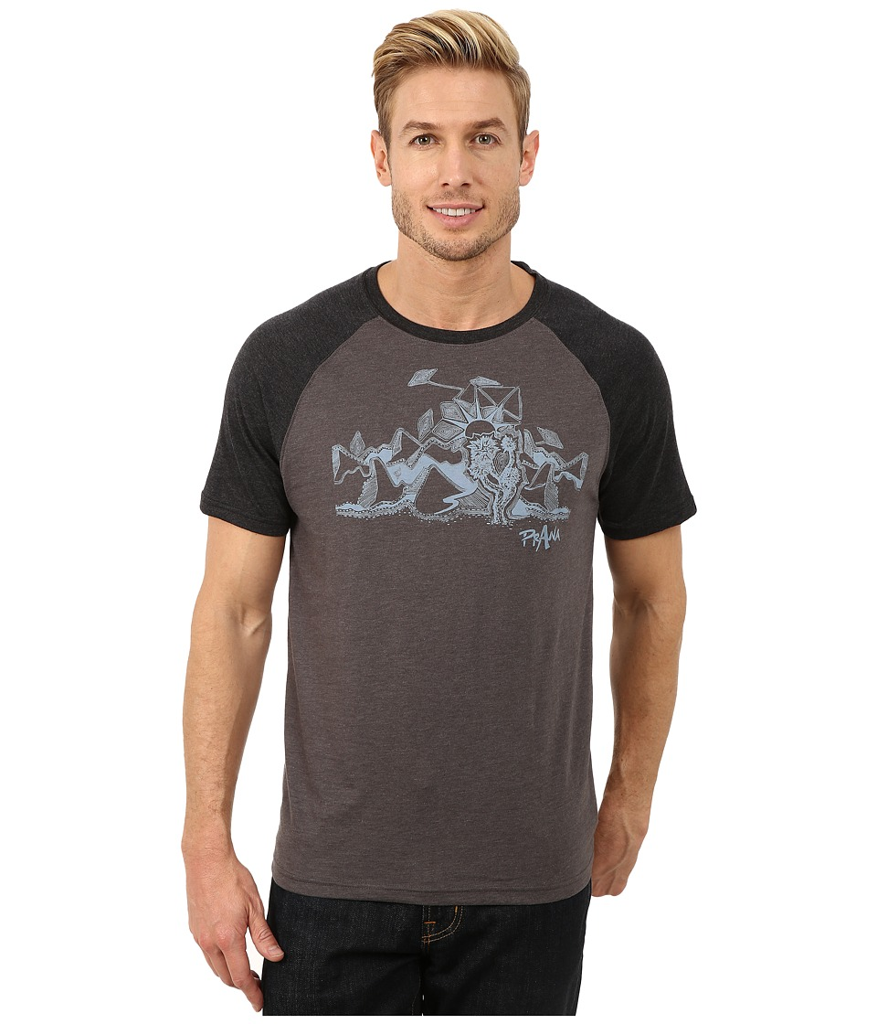 Prana - Desert Tee (Charcoal) Men's T Shirt