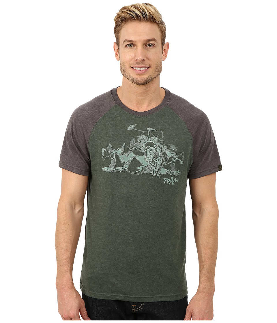 Prana Desert Tee (Evergreen) Men