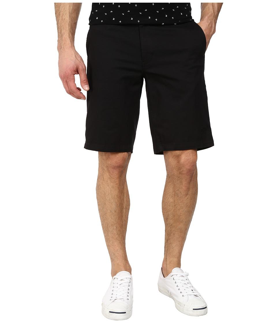 HUF - Twill Walkshorts (Black) Men
