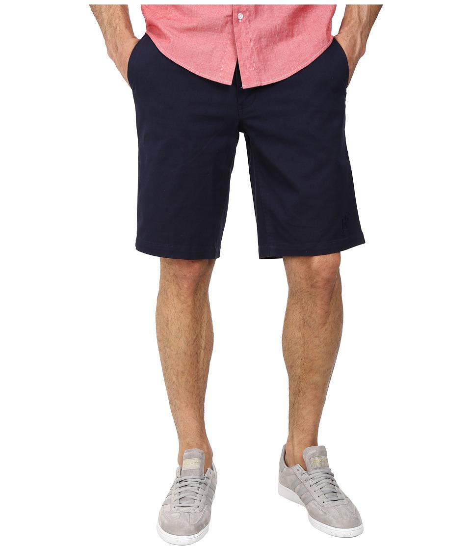 HUF - Twill Walkshorts (Navy) Men