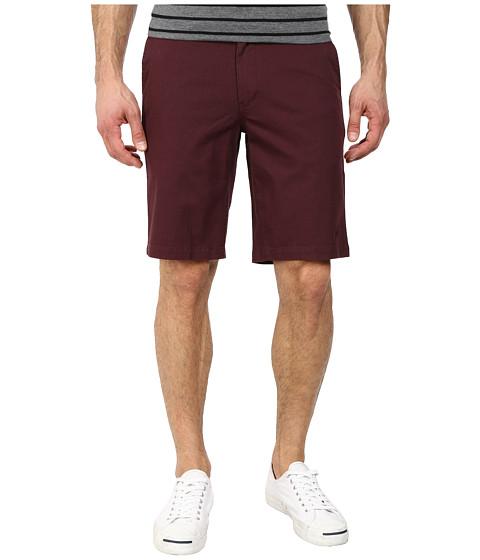 HUF - Twill Walkshorts (Wine) Men's Shorts
