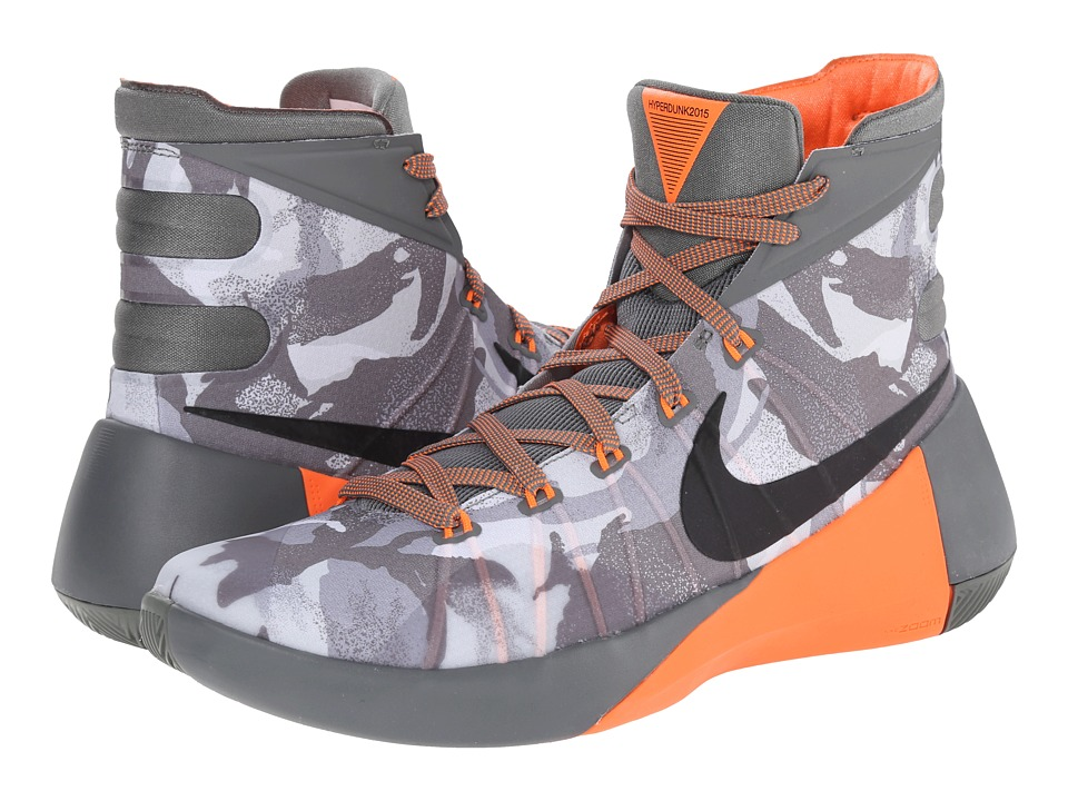 Nike - Hyperdunk 2015 PRM (Tumbled Grey/Night Silver/Deep Pewter/Black) Men's Basketball Shoes