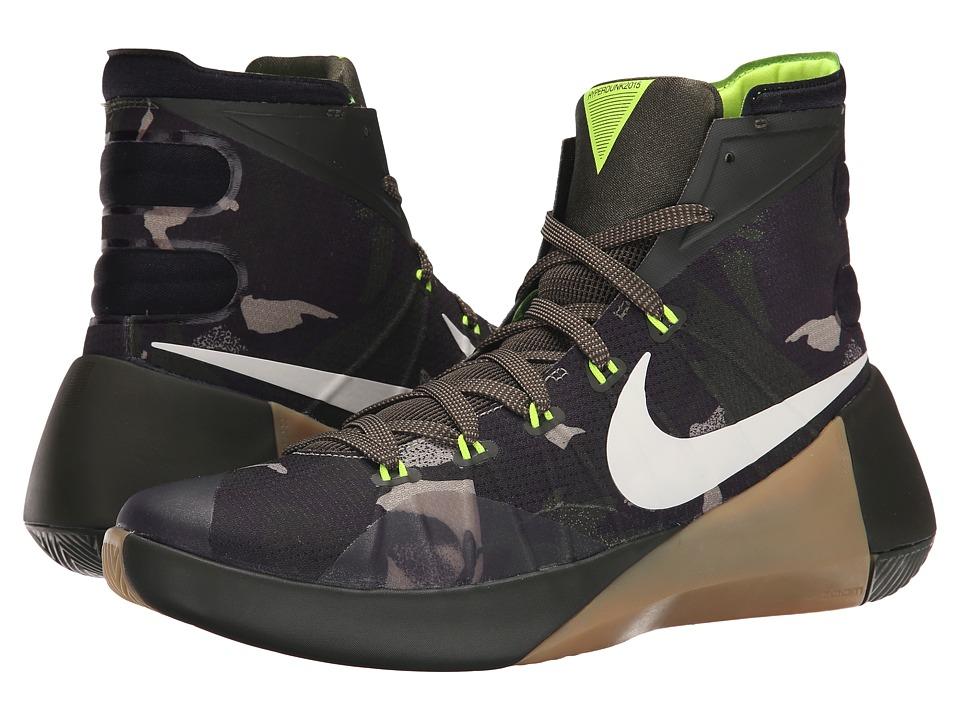 Nike - Hyperdunk 2015 PRM (Cargo Khaki/Sequoia/Bamboo/Sail) Men