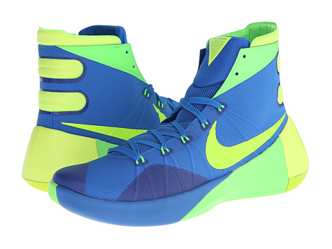 Nike - Hyperdunk 2015 (Soar/Green Strike/Volt) Men's Basketball Shoes