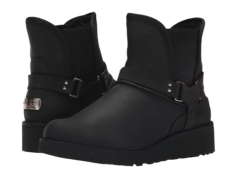 UGG - Glen (Black Leather) Women's Boots