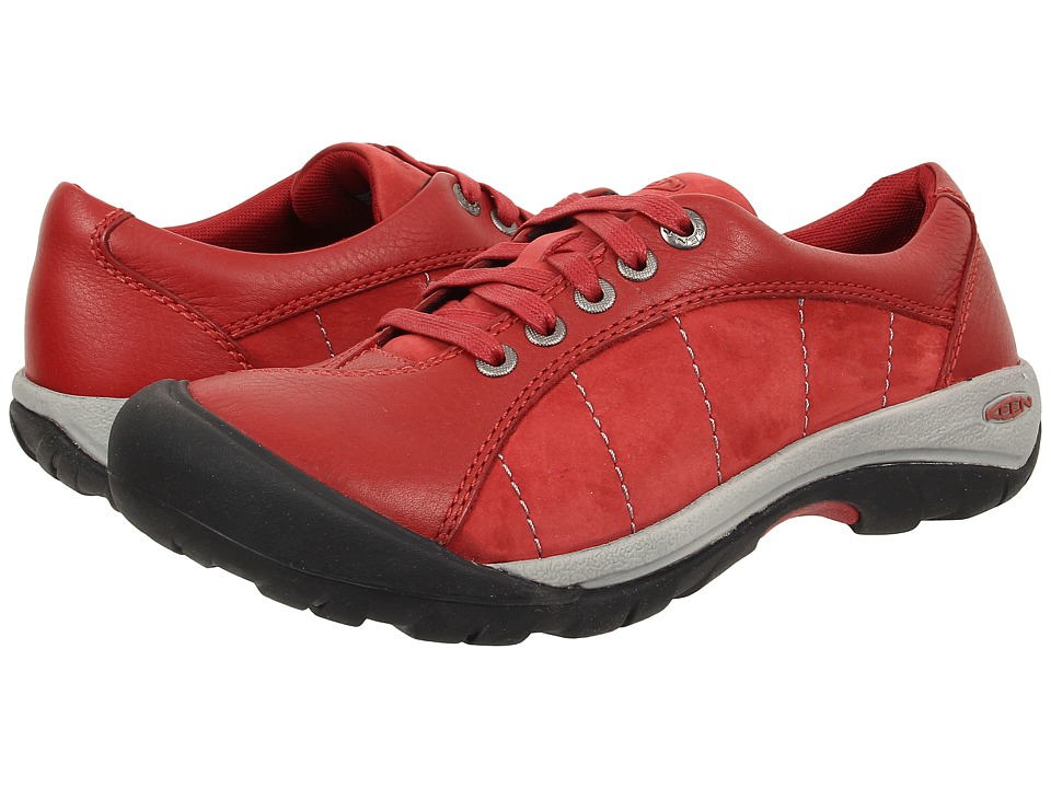 Keen - Presidio (Red Dahlia) Women's Lace up casual Shoes