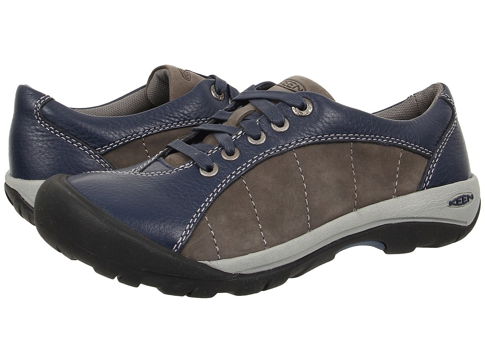 Keen - Presidio (Dress Blues/Gargoyle) Women's Lace up casual Shoes