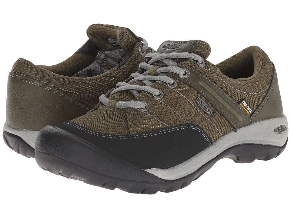 Keen - Presidio Sport Mesh WP (Burnt Olive) Women's Shoes