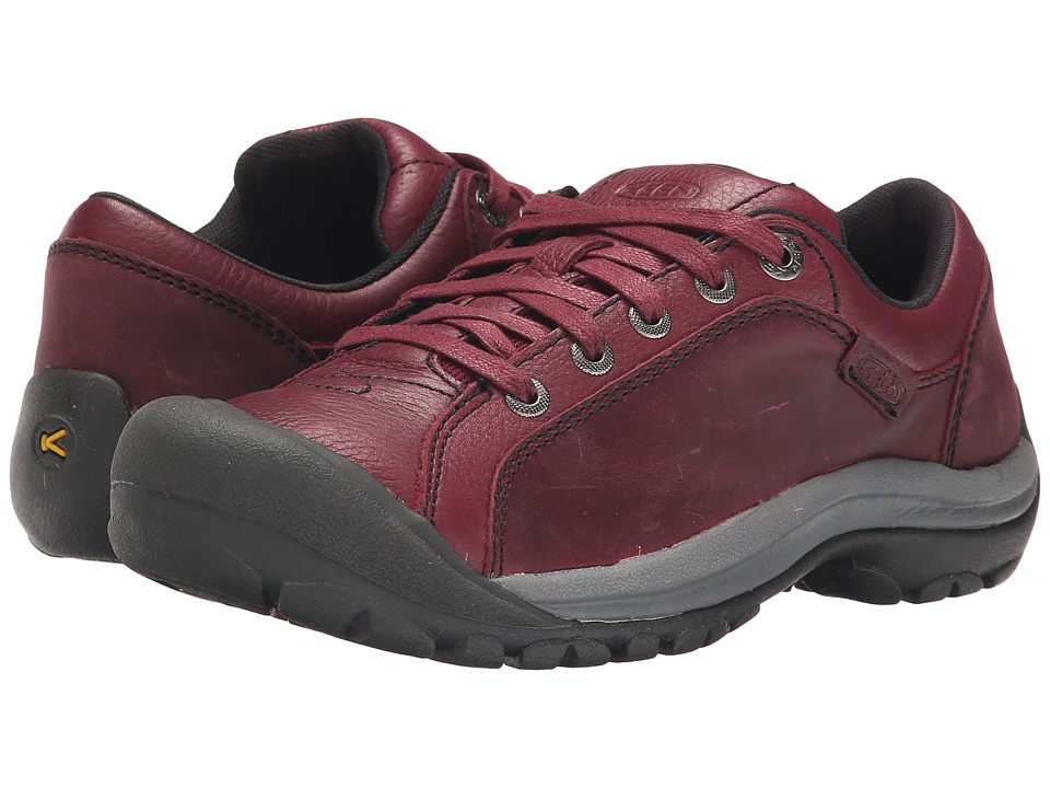 Keen - Briggs Leather (Zinfandel) Women's Lace up casual Shoes