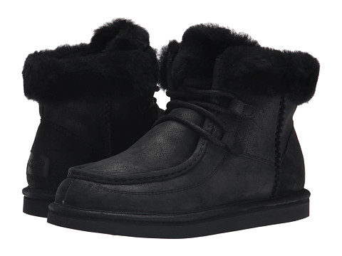 UGG - Cypress (Black Leather) Women's Boots