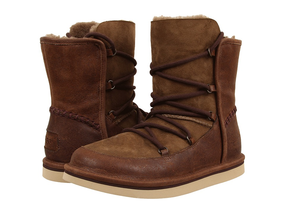 UGG - Lodge (Chocolate Leather) Women's Boots