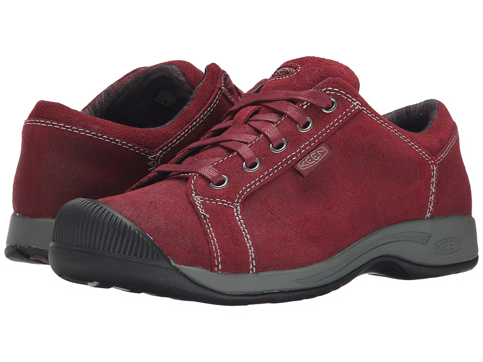 Keen - Reisen Lace (Zinfandel) Women's Lace up casual Shoes