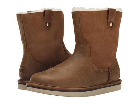 UGG - Sequoia (Chestnut Leather) Women's Boots