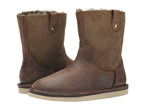 UGG - Sequoia (Chocolate Leather) Women's Boots