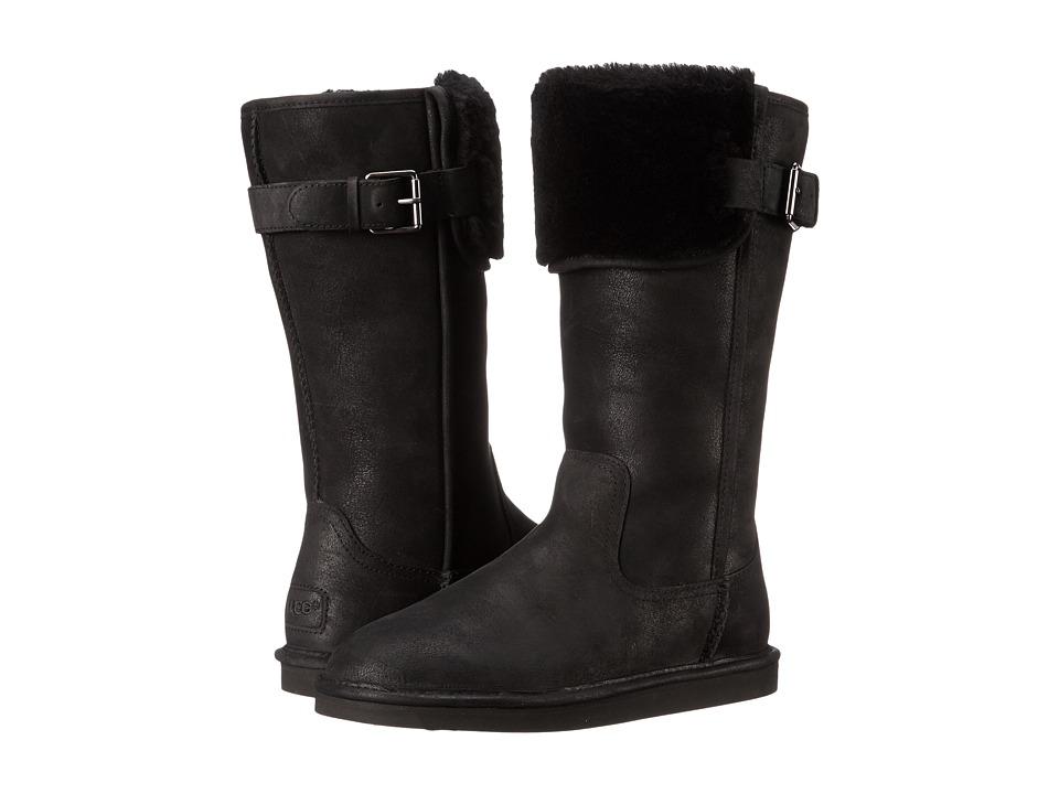 UGG - Wilowe (Black Leather) Women