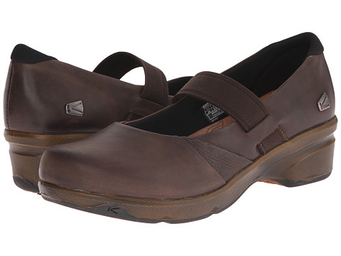 Keen - Mora MJ (Cascade Brown) Women's Maryjane Shoes